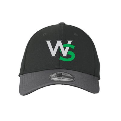Black Baseball Cap with West Salem High School's WS Logo